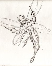 Did you know there really is a wasp called a Beewolf? True story.