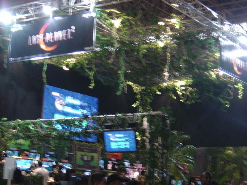 TGS lost planet booth