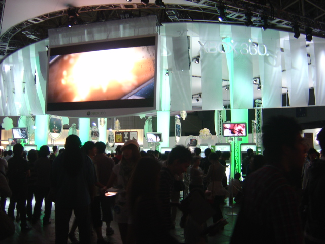 TGS wii booth