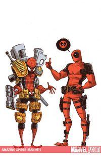 Friendly Neighborhood Deadpool-Man