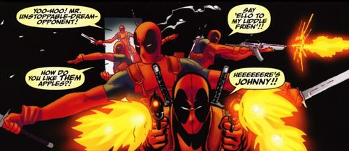 One of these days, Deadpool... Bang, zoom, to the moon!