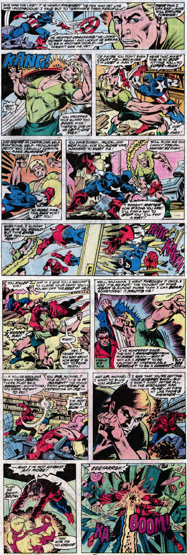 Marvel Flipside Korvac Vs The Avengers