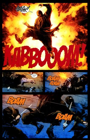 """There should have been a ninja-shattering """"Kabooom!"""""""