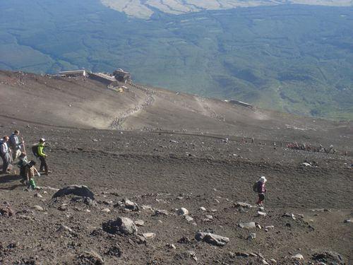 Fuji trail down 2