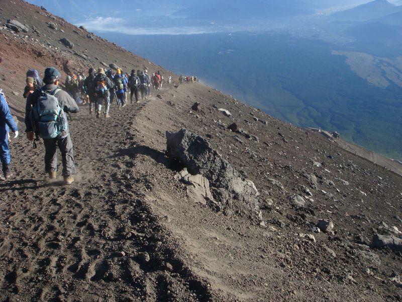 Fuji trail down
