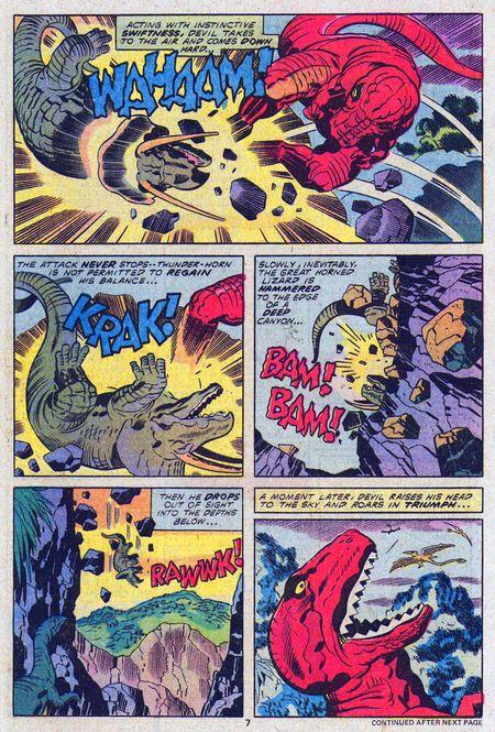 The Devil Dinosaur, You Say!