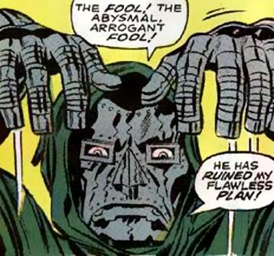 Gangsta pose of Doom!