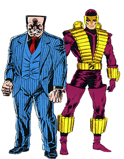 marvel flipside  hammerhead and the trapster