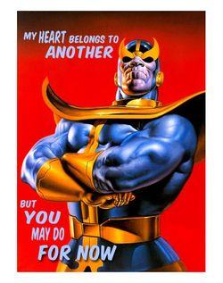 Thanos is always in a rebound relationship
