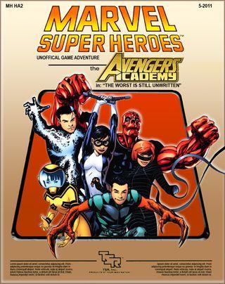 MSH RPG Avengers Academy