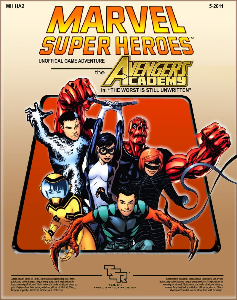 MSH Avengers Academy Cover